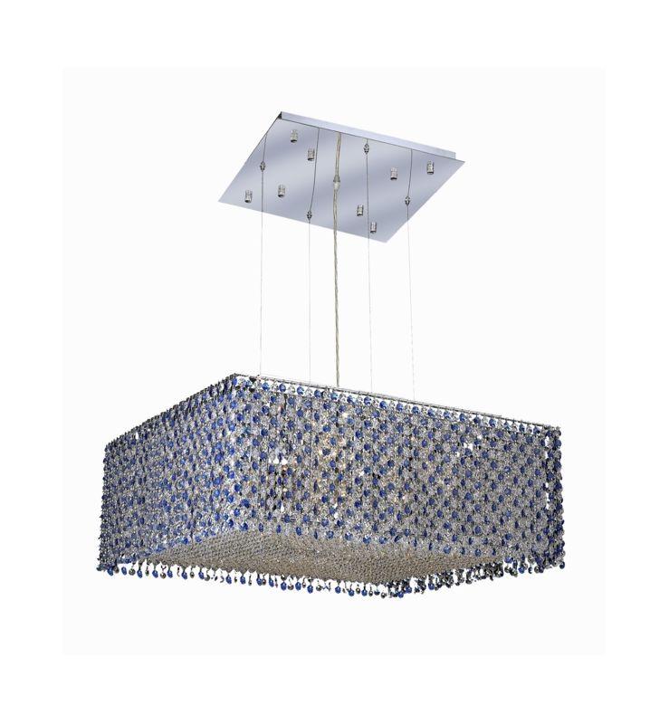 Elegant Lighting 1294D26C-SA Moda 13-Light Crystal Pendant Finished Sale $6386.00 ITEM: bci2010021 ID#:1294D26C-SA/SS :
