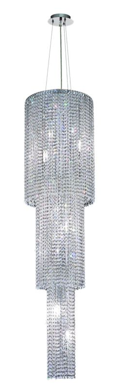 Elegant Lighting 1298G63C-CL Moda 9-Light Three-Tier Crystal Sale $1854.00 ITEM: bci2010244 ID#:1298G63C-CL/RC UPC: 609613239212 :