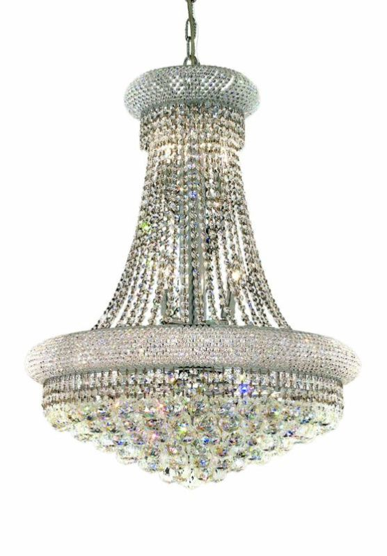 Elegant Lighting 1800D24C Primo 14-Light Two-Tier Crystal Chandelier Sale $4760.00 ITEM: bci2011858 ID#:1800D24C/SA UPC: 848145029728 :