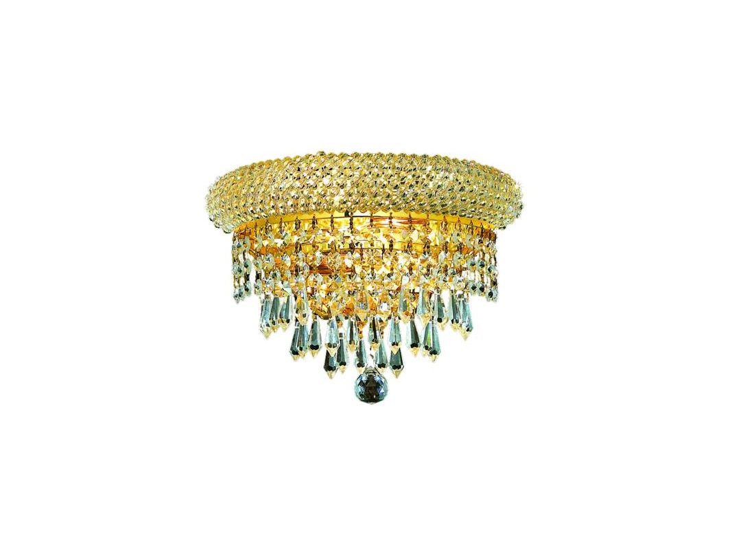 Elegant Lighting 1802W12G Primo 2-Light Crystal Wall Sconce Finished Sale $218.00 ITEM: bci2012276 ID#:1802W12G/RC UPC: 848145032636 :