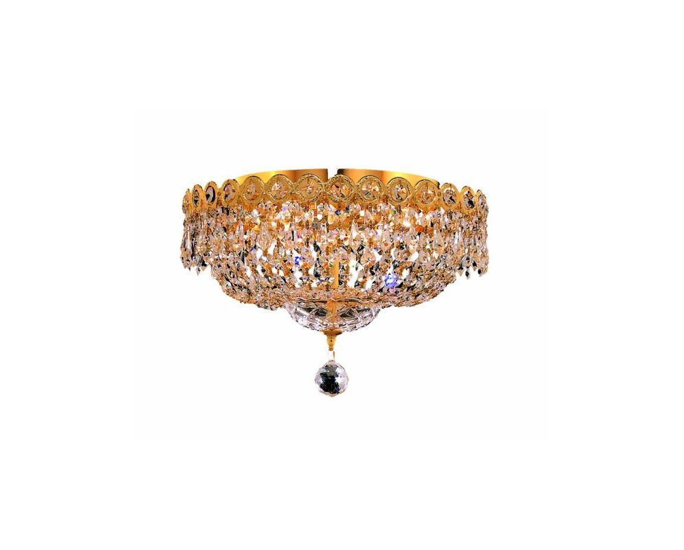 Elegant Lighting 1900F14G Century 4-Light Single-Tier Flush Mount Sale $1602.00 ITEM: bci2012495 ID#:1900F14G/SS UPC: 848145033374 :