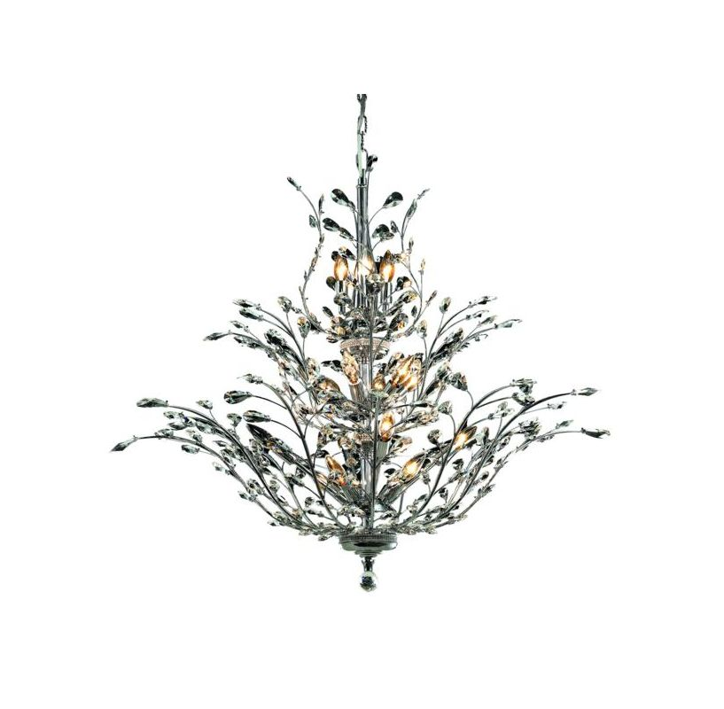 Elegant Lighting 2011G41C Orchid 18-Light Three-Tier Crystal Sale $2884.00 ITEM: bci2013049 ID#:2011G41C/EC UPC: 848145035422 :
