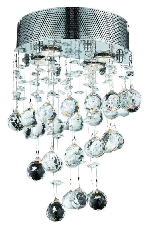 Elegant Lighting 2024W12C Galaxy 2-Light Crystal Wall Sconce Finished Sale $736.00 ITEM: bci2013316 ID#:2024W12C/SA UPC: 848145038270 :