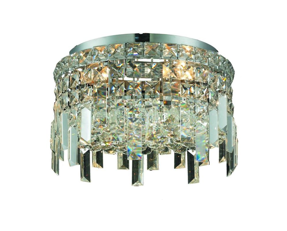 Elegant Lighting 2031F12C Maxim 4-Light Single-Tier Flush Mount Sale $2770.00 ITEM: bci2013423 ID#:2031F12C/SS UPC: 848145039475 :