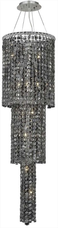 Elegant Lighting 2031G54C-SS Maxim 12-Light Three-Tier Crystal Sale $11094.00 ITEM: bci2013447 ID#:2031G54C-SS/SS UPC: 848145039710 :