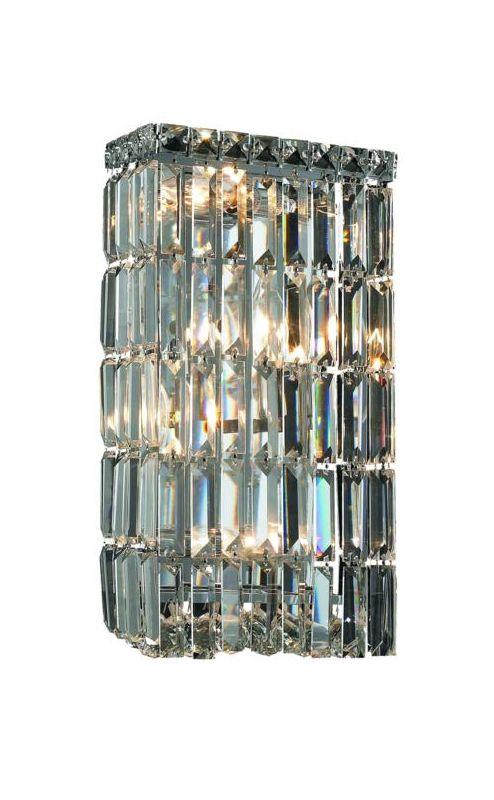 Elegant Lighting 2032W8C Maxim 4-Light Crystal Wall Sconce Finished Sale $412.00 ITEM: bci2013548 ID#:2032W8C/RC UPC: 848145040938 :