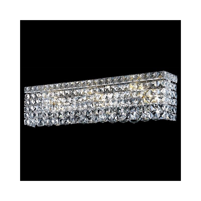 Elegant Lighting 2033W26C Maxim 6-Light Crystal Wall Sconce Finished Sale $774.00 ITEM: bci2013613 ID#:2033W26C/EC UPC: 848145041645 :