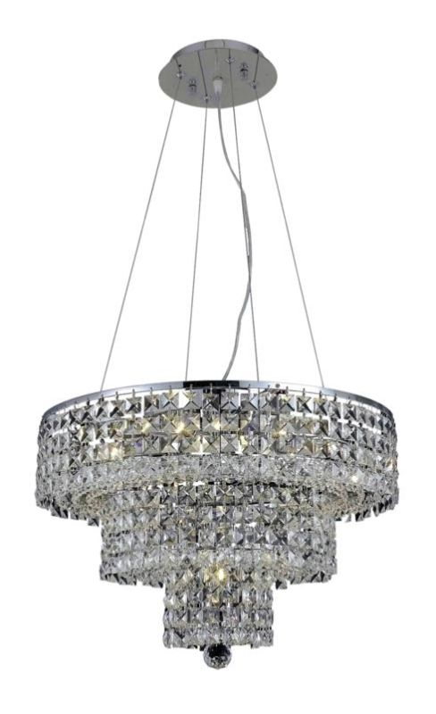 Elegant Lighting 2037D20C Maxim 9-Light Three-Tier Crystal Sale $1494.00 ITEM: bci2013739 ID#:2037D20C/EC UPC: 848145042987 :