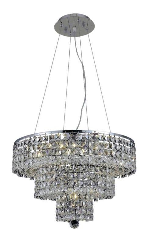 Elegant Lighting 2037D20C Maxim 9-Light Three-Tier Crystal Sale $1494.00 ITEM: bci2013739 ID#:2037D20C/EC UPC: 848145042987 :