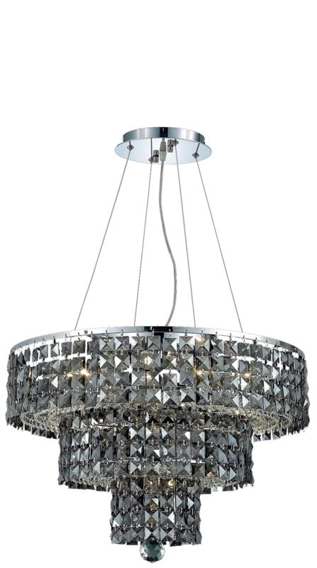 Elegant Lighting 2037D20C-SS Maxim 9-Light Three-Tier Crystal Sale $1494.00 ITEM: bci2013744 ID#:2037D20C-SS/RC UPC: 848145043045 :