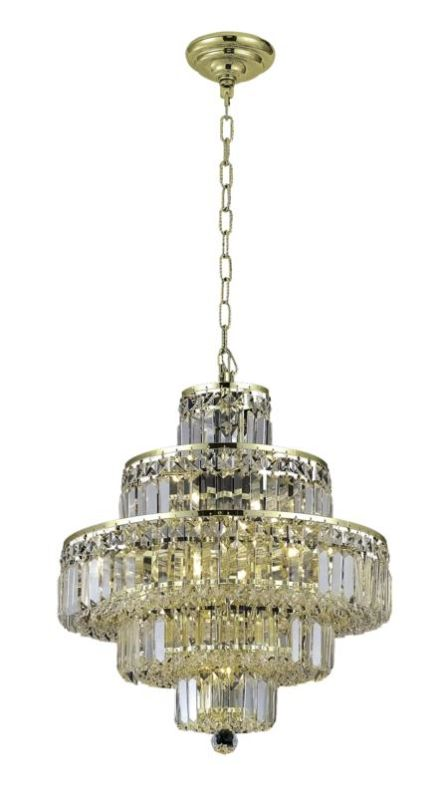 Elegant Lighting 2038D20G Maxim 13-Light Five-Tier Crystal Sale $1422.00 ITEM: bci2013780 ID#:2038D20G/RC UPC: 848145043410 :