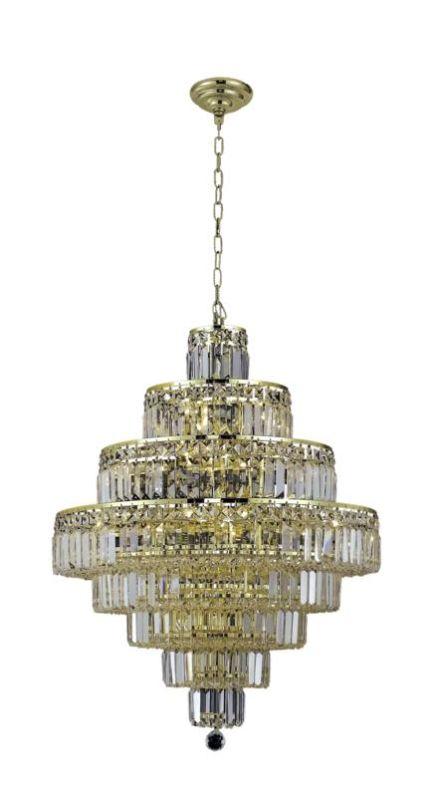 Elegant Lighting 2038D26G Maxim 18-Light Eight-Tier Crystal Sale $2370.00 ITEM: bci2013790 ID#:2038D26G/RC UPC: 848145043519 :