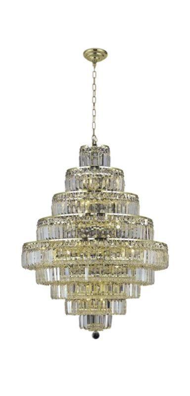 Elegant Lighting 2038D30G Maxim 20-Light Nine-Tier Crystal Sale $3296.00 ITEM: bci2013800 ID#:2038D30G/RC UPC: 848145043618 :