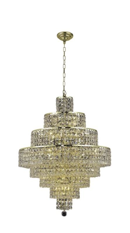 Elegant Lighting 2039D26G Maxim 18-Light Eight-Tier Crystal Sale $7808.00 ITEM: bci2013847 ID#:2039D26G/SS UPC: 848145044073 :