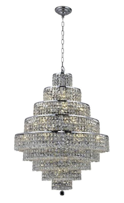 Elegant Lighting 2039D30C Maxim 20-Light Nine-Tier Crystal Sale $4326.00 ITEM: bci2013849 ID#:2039D30C/EC UPC: 848145044080 :