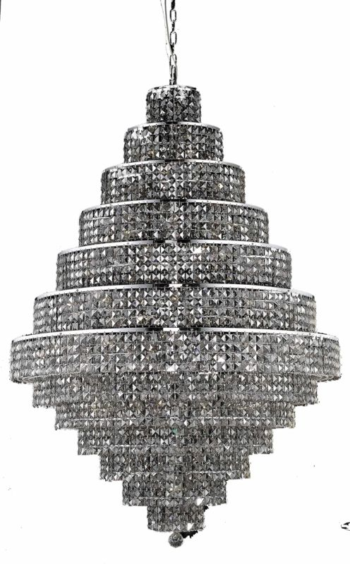 Elegant Lighting 2039G42C-SS Maxim 38-Light Thirteen-Tier Crystal Sale $6386.00 ITEM: bci2013878 ID#:2039G42C-SS/RC UPC: 848145044387 :