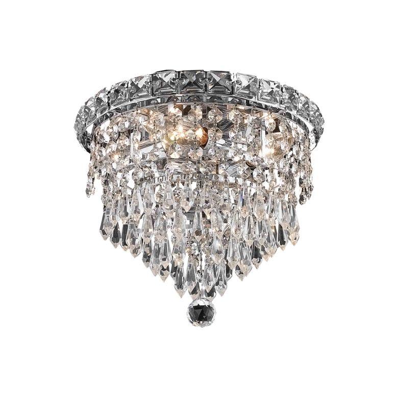 Elegant Lighting 2526F10C Tranquil 4-Light Single-Tier Flush Mount Sale $284.00 ITEM: bci2014021 ID#:2526F10C/RC UPC: 848145046251 :