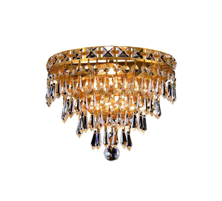 Elegant Lighting 2526W12G Tranquil 3-Light Crystal Wall Sconce Sale $314.00 ITEM: bci2014121 ID#:2526W12G/RC UPC: 848145046619 :