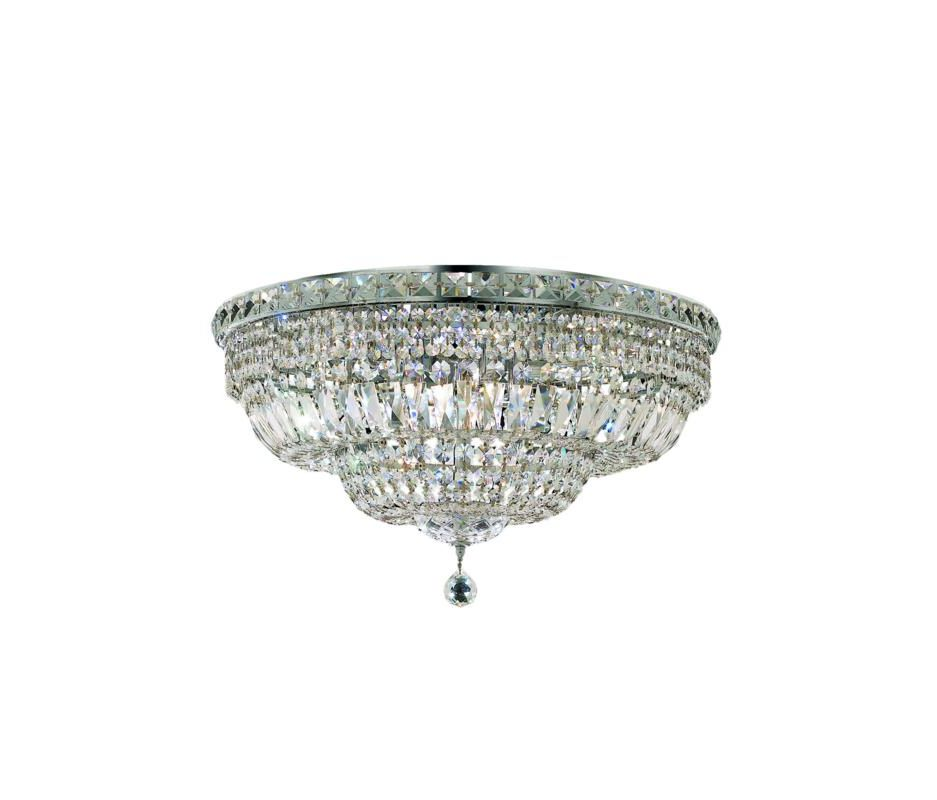 Elegant Lighting 2528F24C Tranquil 12-Light Single-Tier Flush Mount Sale $1774.00 ITEM: bci2014335 ID#:2528F24C/SA UPC: 848145047548 :