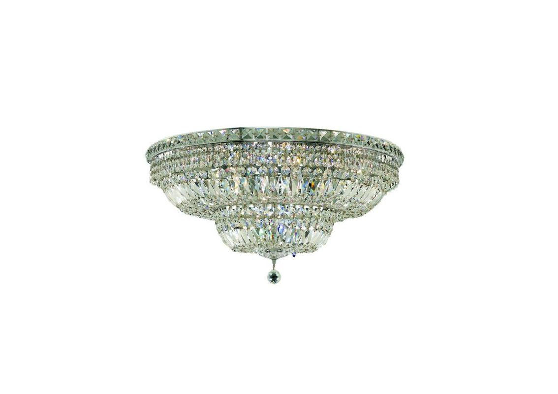 Elegant Lighting 2528F30C Tranquil 18-Light Single-Tier Flush Mount Sale $1516.00 ITEM: bci2014342 ID#:2528F30C/EC UPC: 848145047609 :