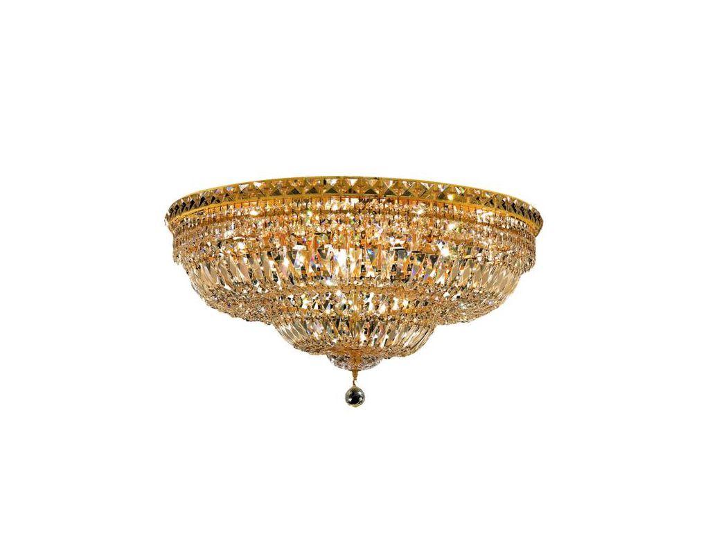 Elegant Lighting 2528F30G Tranquil 18-Light Single-Tier Flush Mount Sale $5236.00 ITEM: bci2014348 ID#:2528F30G/SS UPC: 848145047678 :