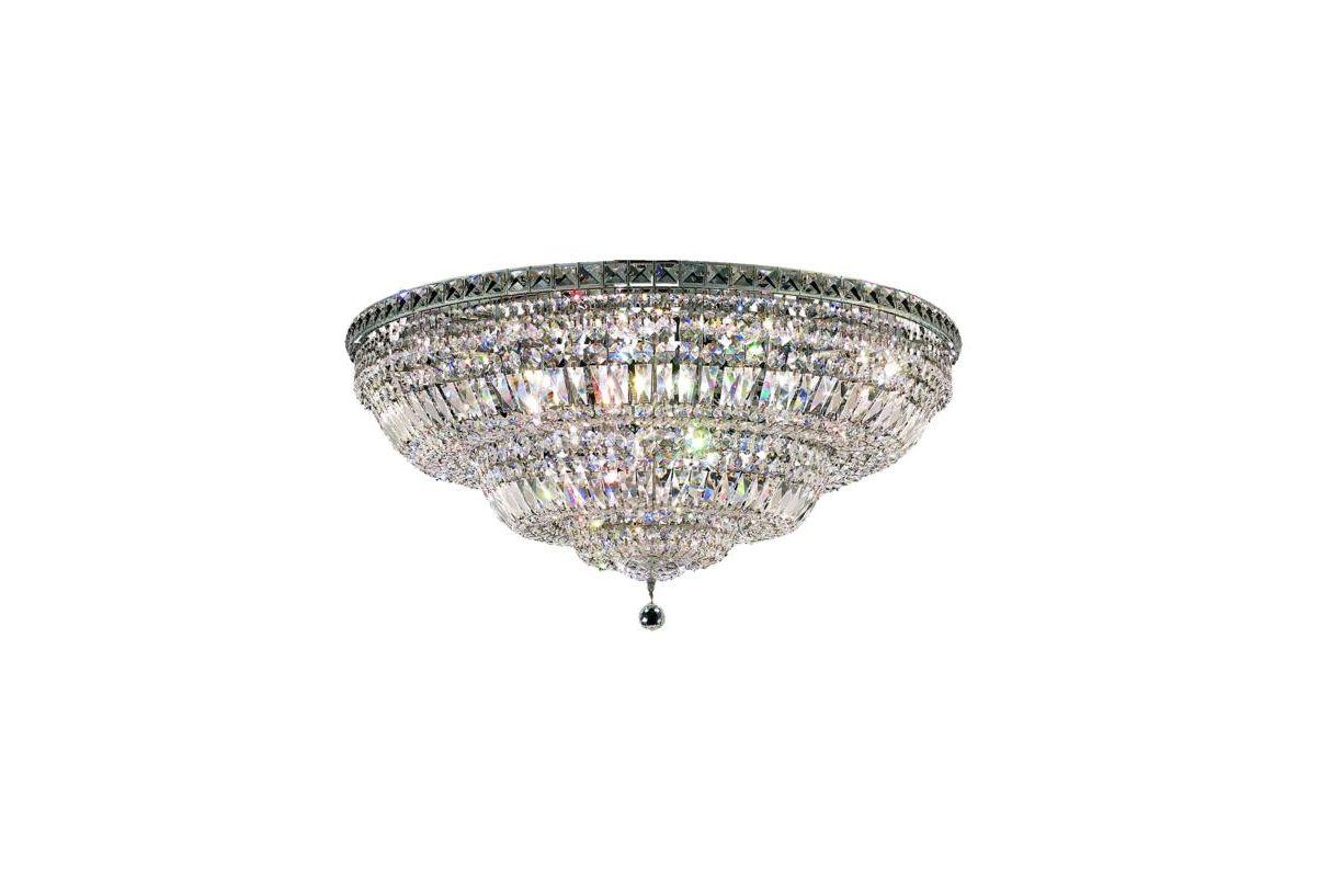 Elegant Lighting 2528F36C Tranquil 21-Light Single-Tier Flush Mount Sale $1840.00 ITEM: bci2014349 ID#:2528F36C/RC UPC: 848145047692 :