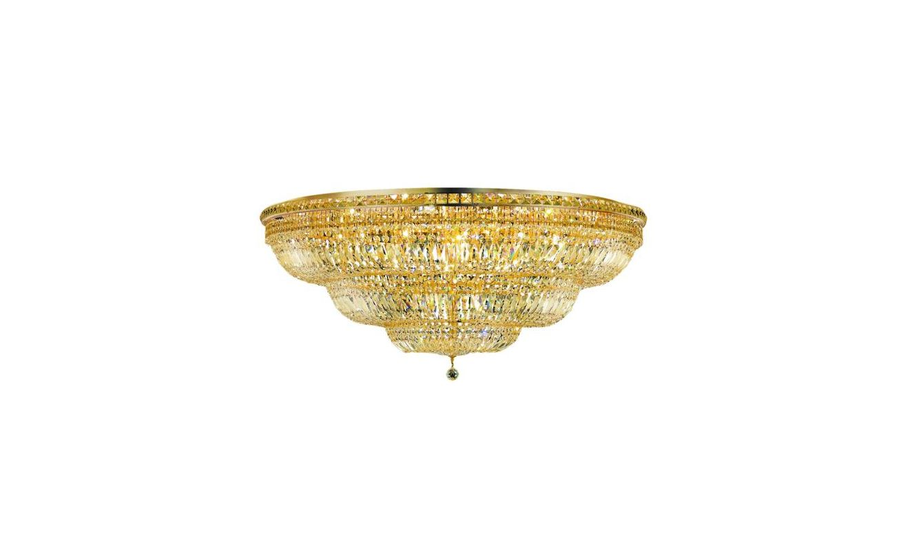 Elegant Lighting 2528F48G Tranquil 33-Light Single-Tier Flush Mount Sale $13262.00 ITEM: bci2014364 ID#:2528F48G/SS UPC: 848145047838 :