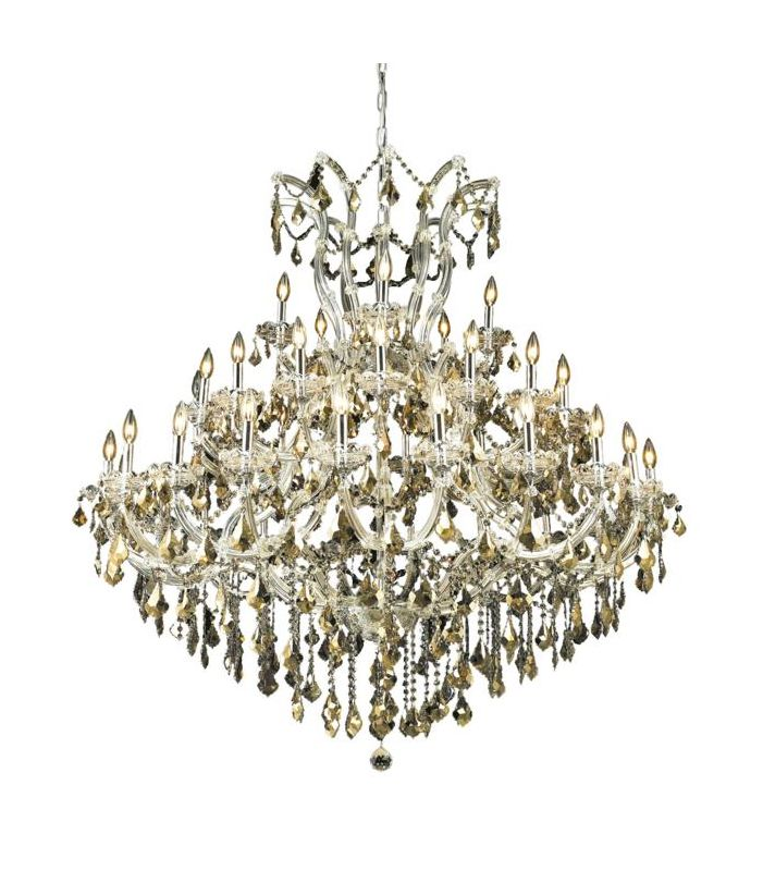 Elegant Lighting 2800G52C-GT Maria Theresa 41-Light Three-Tier Sale $18756.00 ITEM: bci2014540 ID#:2800G52C-GT/SS UPC: 848145052733 :