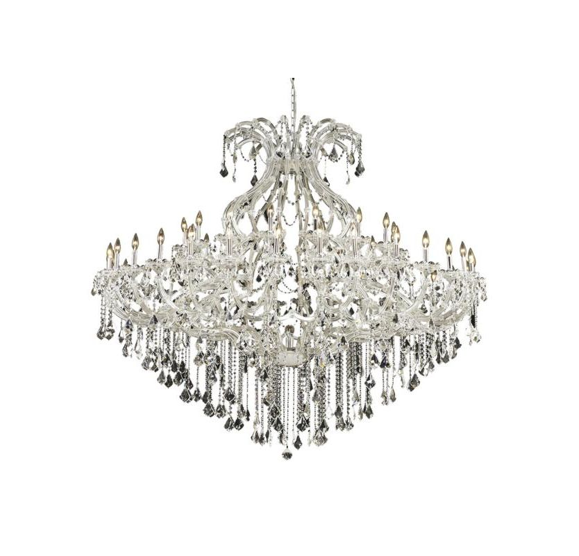 Elegant Lighting 2800G72C Maria Theresa 49-Light Two-Tier Crystal Sale $6382.00 ITEM: bci2014571 ID#:2800G72C/RC UPC: 848145053112 :