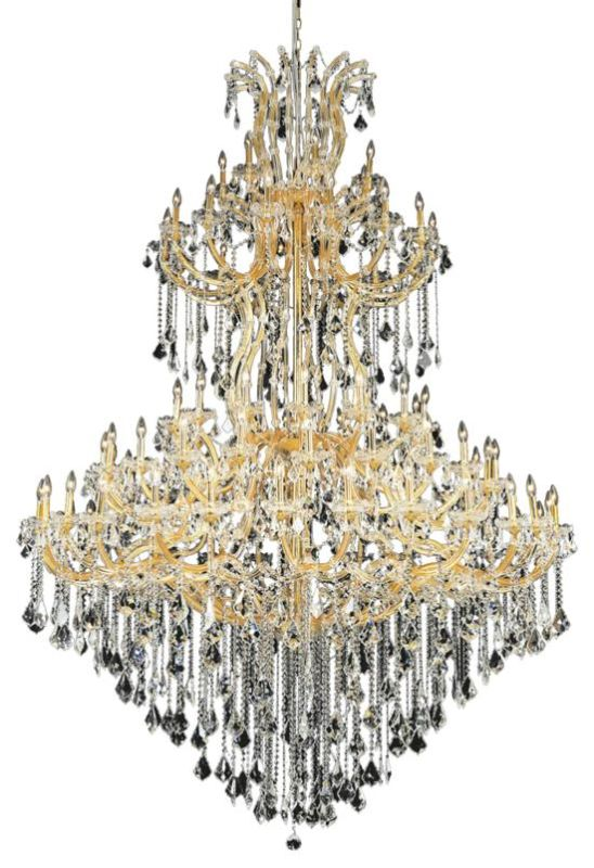 Elegant Lighting 2800G96G Maria Theresa 85-Light Five-Tier Crystal Sale $11682.00 ITEM: bci2014590 ID#:2800G96G/EC UPC: 848145053303 :
