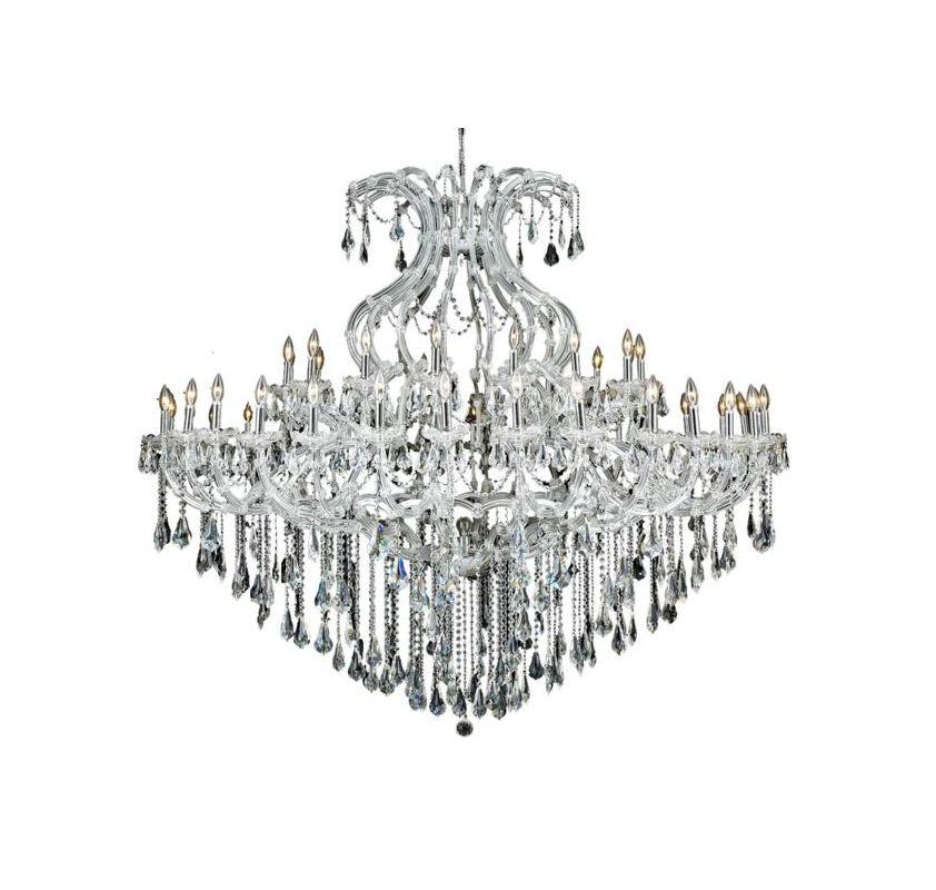 Elegant Lighting 2801G72C Maria Theresa 49-Light Two-Tier Crystal Sale $7020.00 ITEM: bci2014775 ID#:2801G72C/RC UPC: 848145055529 :