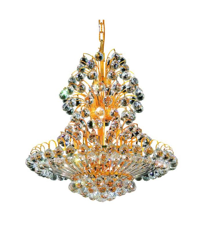 Elegant Lighting 2908D24G Sirius 14-Light Two-Tier Crystal Sale $9258.00 ITEM: bci2014838 ID#:2908D24G/SS UPC: 848145056182 :