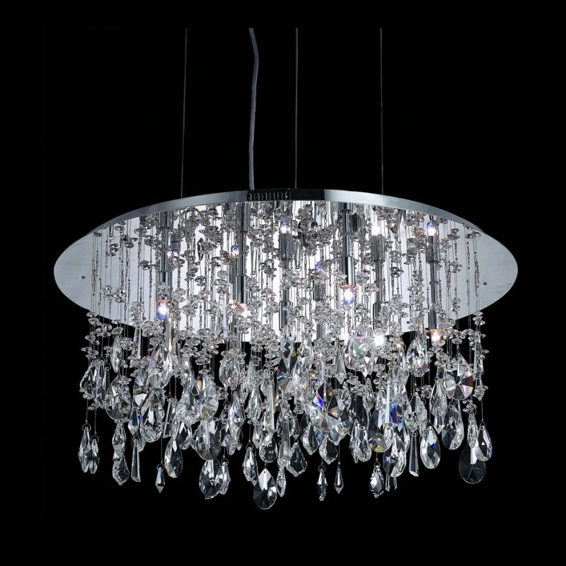 Elegant Lighting 5903D26C Mirage 9-Light Crystal Pendant Finished in Sale $627.00 ITEM: bci2014932 ID#:5903D26C/RC :