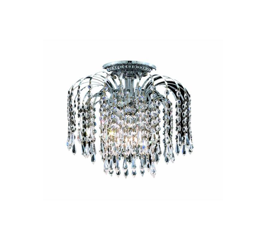 Elegant Lighting 6801F16C Falls 4-Light Single-Tier Flush Mount Sale $760.00 ITEM: bci2014979 ID#:6801F16C/SS UPC: 848145058247 :