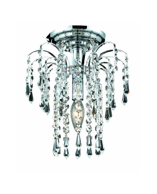 Elegant Lighting 6801F9C Falls 1-Light Single-Tier Flush Mount Sale $240.00 ITEM: bci2014986 ID#:6801F9C/SA UPC: 848145058315 :