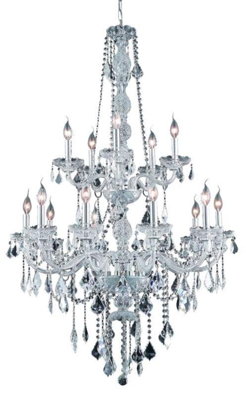 Elegant Lighting 7815G33C Verona 15-Light Two-Tier Crystal Sale $3634.00 ITEM: bci2015128 ID#:7815G33C/SA UPC: 848145060356 :