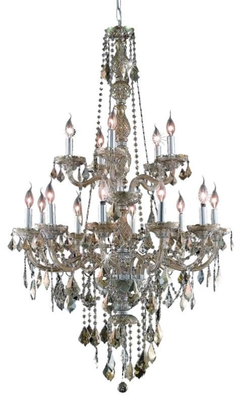 Elegant Lighting 7815G33GT-GT Verona 15-Light Two-Tier Crystal Sale $2596.00 ITEM: bci2015138 ID#:7815G33GT-GT/RC UPC: 848145060431 :