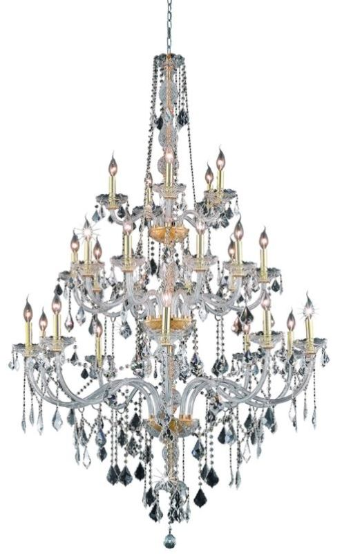 Elegant Lighting 7825G43G Verona 25-Light Three-Tier Crystal Sale $2380.00 ITEM: bci2015148 ID#:7825G43G/RC UPC: 848145060547 :