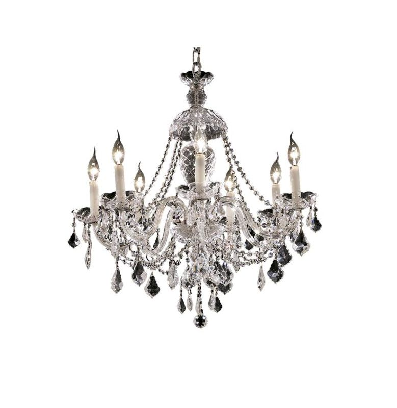 Elegant Lighting 7831D26C Alexandria 7-Light Single-Tier Crystal Sale $2154.00 ITEM: bci2015328 ID#:7831D26C/SS UPC: 848145061360 :