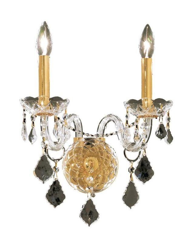 Elegant Lighting 7831W3G Alexandria 3-Light Crystal Wall Sconce Sale $228.00 ITEM: bci2015378 ID#:7831W3G/EC UPC: 848145061858 :