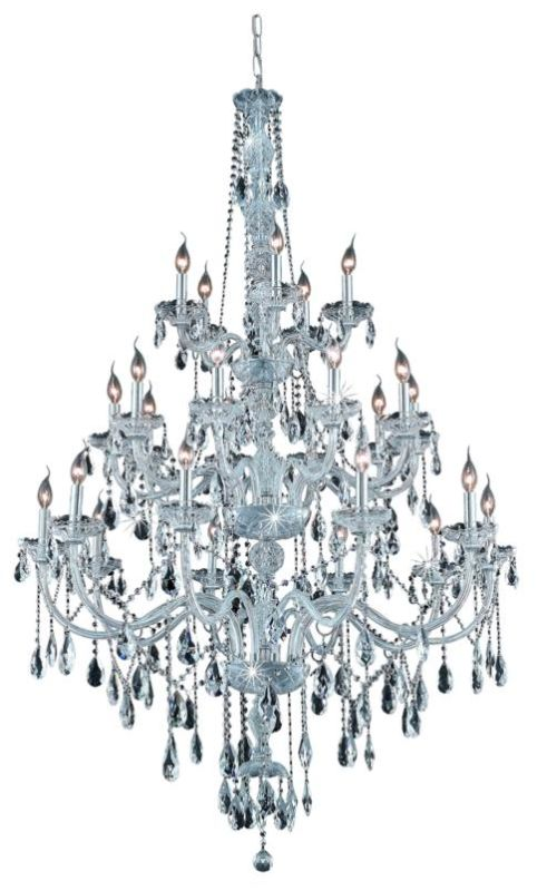 Elegant Lighting 7925G43C Verona 25-Light Three-Tier Crystal