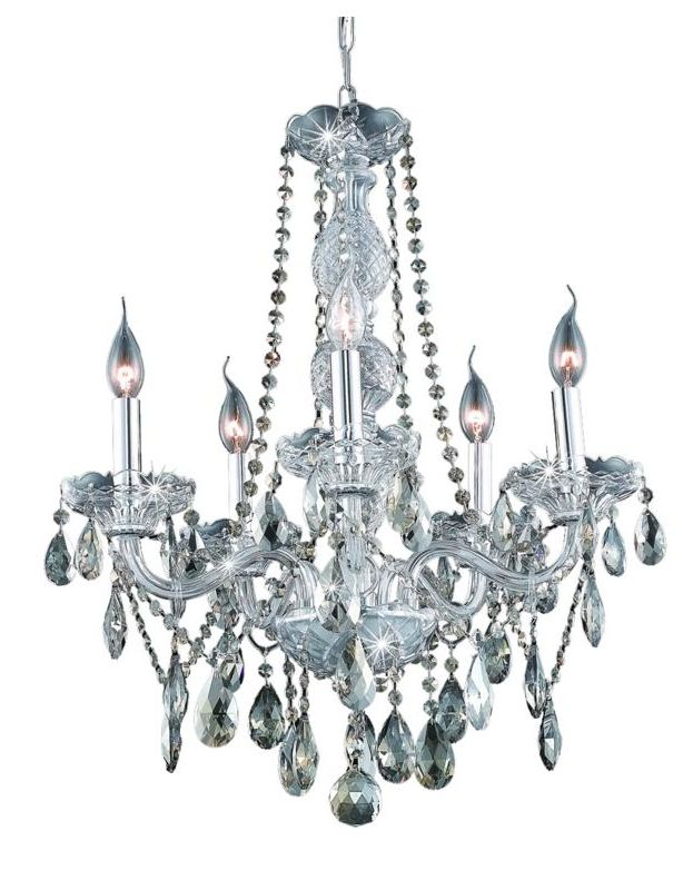 Elegant Lighting 7955D21C-GT Verona 5-Light Single-Tier Crystal Sale $716.00 ITEM: bci2015629 ID#:7955D21C-GT/RC UPC: 848145063777 :