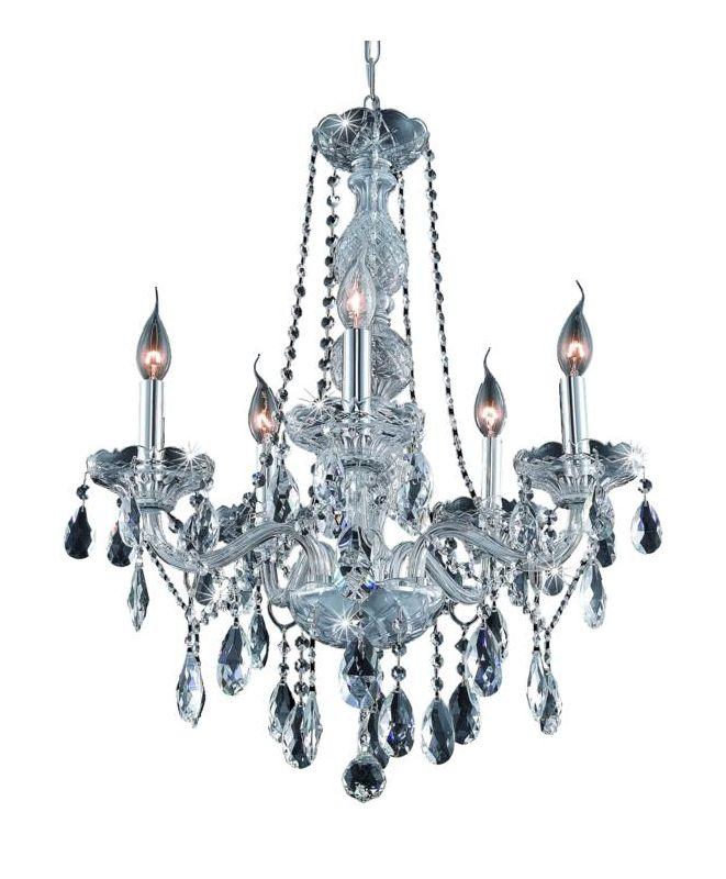 Elegant Lighting 7955D21C Verona 5-Light Single-Tier Crystal Sale $866.00 ITEM: bci2015627 ID#:7955D21C/SA UPC: 848145063753 :