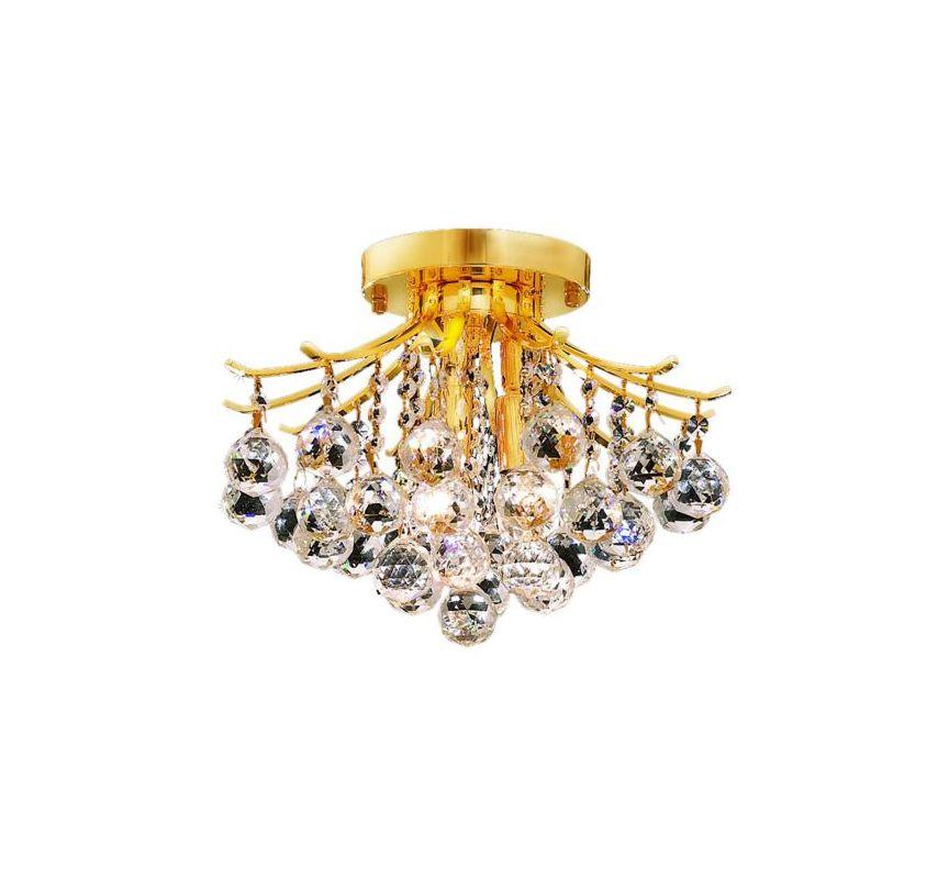 Elegant Lighting 8000F12G Toureg 3-Light Single-Tier Flush Mount Sale $240.00 ITEM: bci2015693 ID#:8000F12G/RC UPC: 848145064361 :