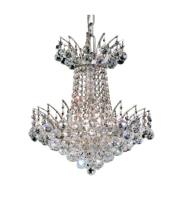 Elegant Lighting 8031D16C Victoria 4-Light Two-Tier Crystal Sale $910.00 ITEM: bci2015786 ID#:8031D16C/EC UPC: 848145065276 :