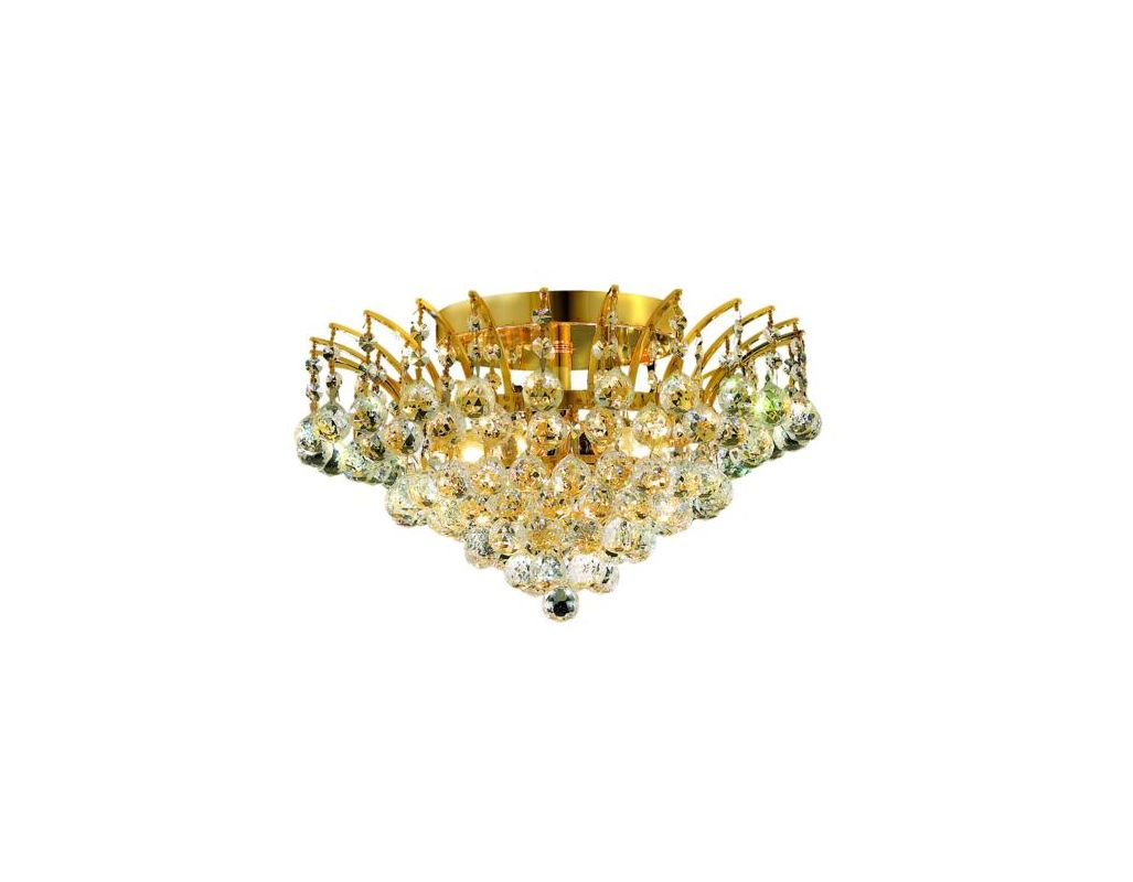 Elegant Lighting 8031F16G Victoria 6-Light Single-Tier Flush Mount Sale $616.00 ITEM: bci2015822 ID#:8031F16G/EC UPC: 848145065634 :