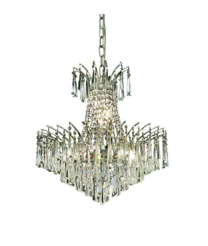 Elegant Lighting 8032D19C Victoria 8-Light Two-Tier Crystal Sale $2812.00 ITEM: bci2015851 ID#:8032D19C/SA UPC: 848145065931 :