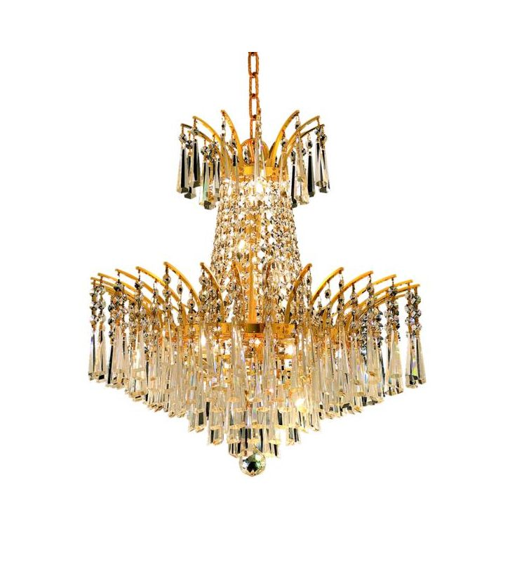 Elegant Lighting 8032D19G Victoria 8-Light Two-Tier Crystal Sale $976.00 ITEM: bci2015854 ID#:8032D19G/EC UPC: 848145065955 :
