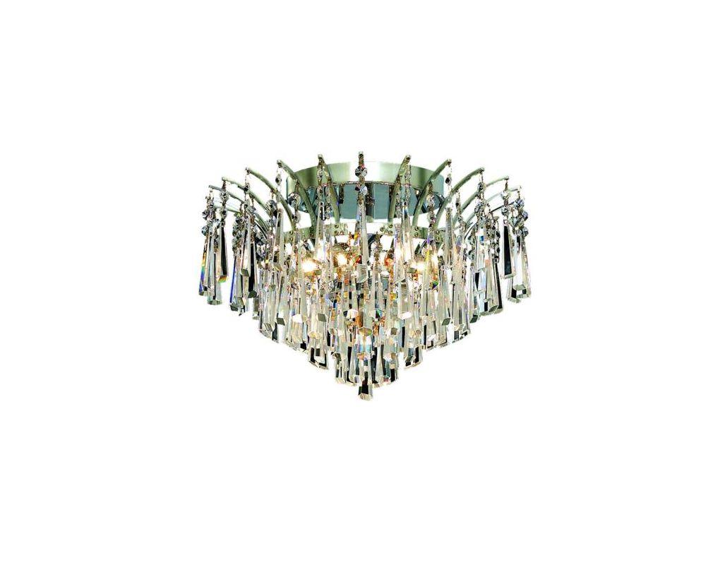 Elegant Lighting 8032F16C Victoria 6-Light Single-Tier Flush Mount Sale $564.00 ITEM: bci2015874 ID#:8032F16C/EC UPC: 848145066150 :