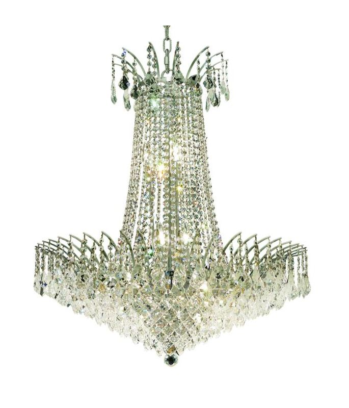 Elegant Lighting 8033D29C Victoria 16-Light Two-Tier Crystal Sale $8090.00 ITEM: bci2015924 ID#:8033D29C/SS UPC: 848145066662 :